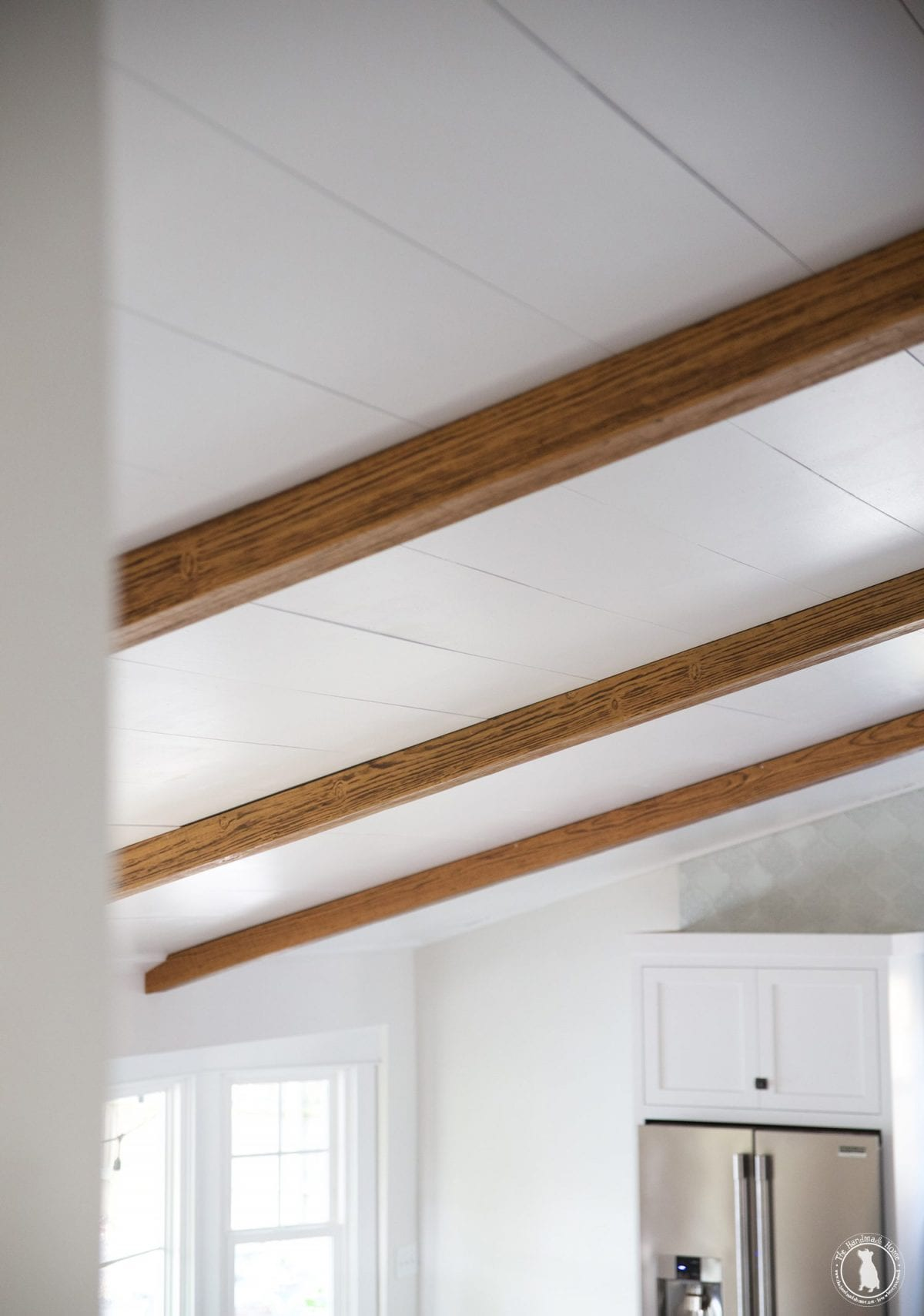 how to shiplap your ceilings - plank your ceilings
