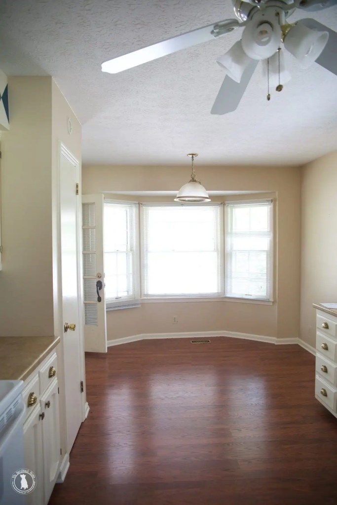 how to shiplap your ceilings - living_area_windows_bay_window