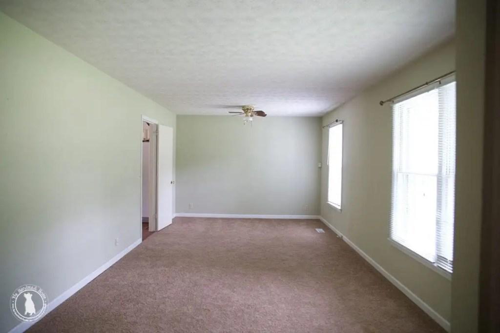 shiplap ceilings before