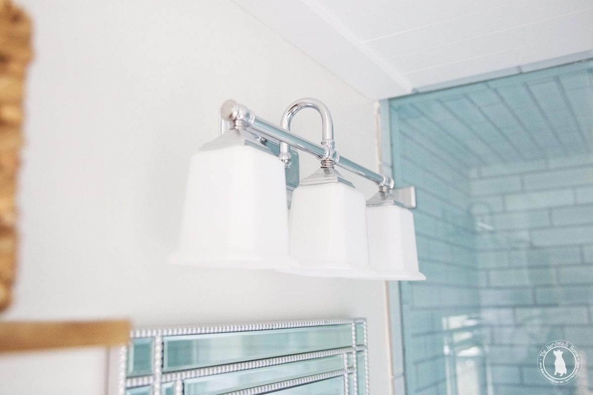 bathroom light giveaway with lamps plus  The Handmade Home
