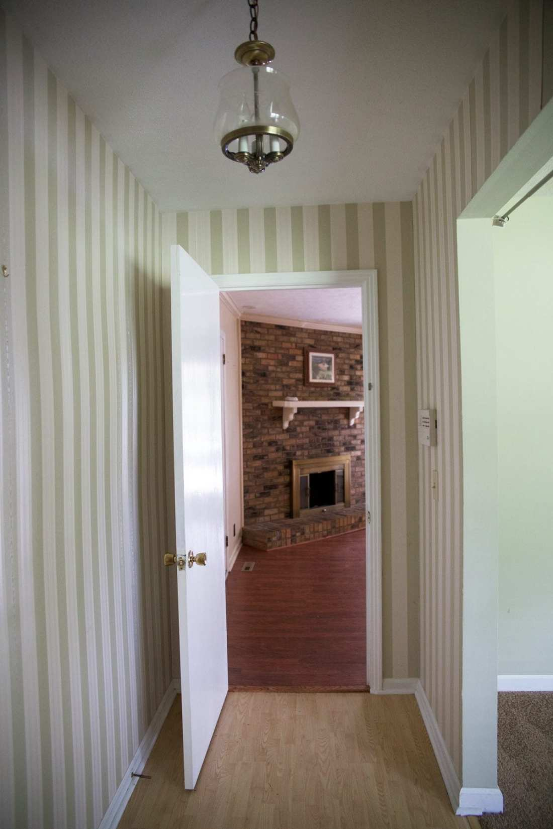 how to hide your tv over the fireplace - The Handmade Home