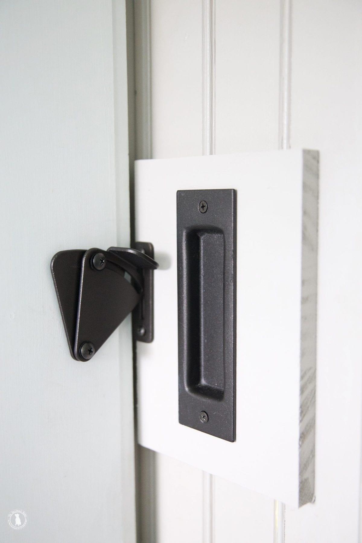 Add A Lock To Barn Door The, Bathroom Sliding Barn Door Lock