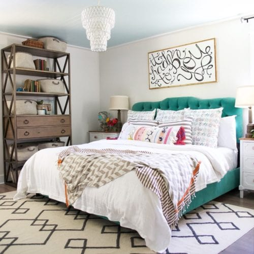 master bedroom overhaul {and a bit of an update}