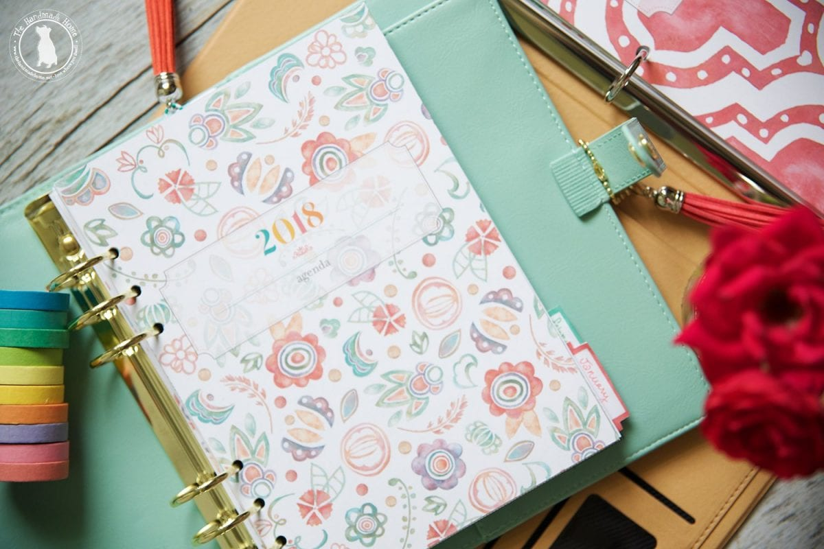 a4 covers - free planner 2018