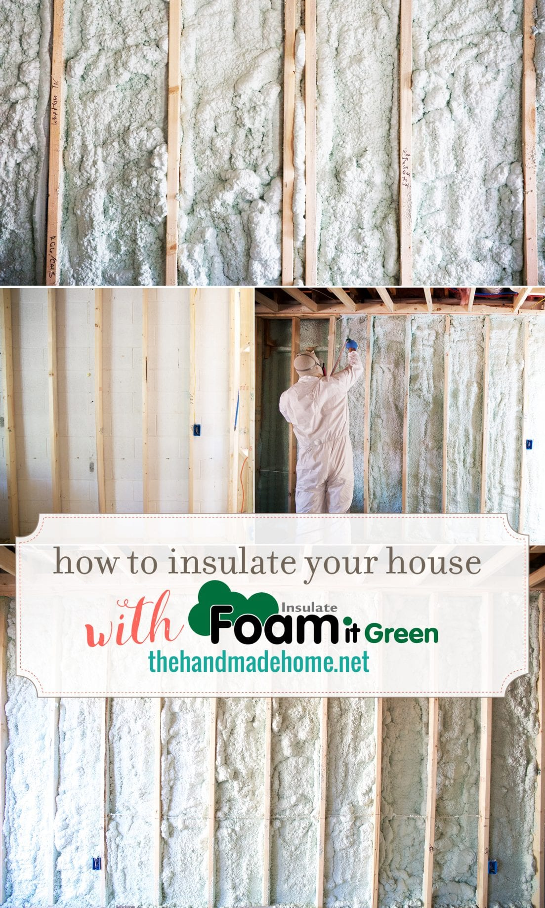 how to use spray insulation - foam it green - insulate you your home