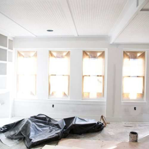 the basement: planks, priming, and plans