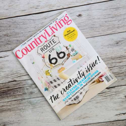 country living's creativity issue
