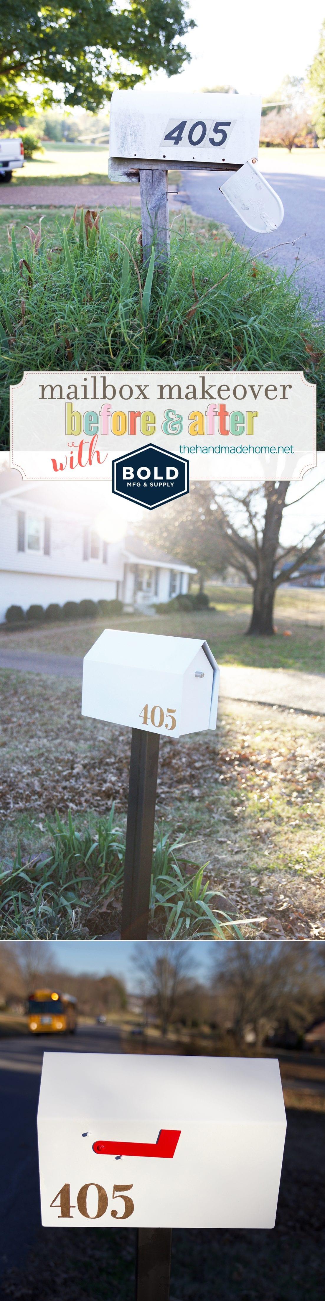Mailbox Makeover