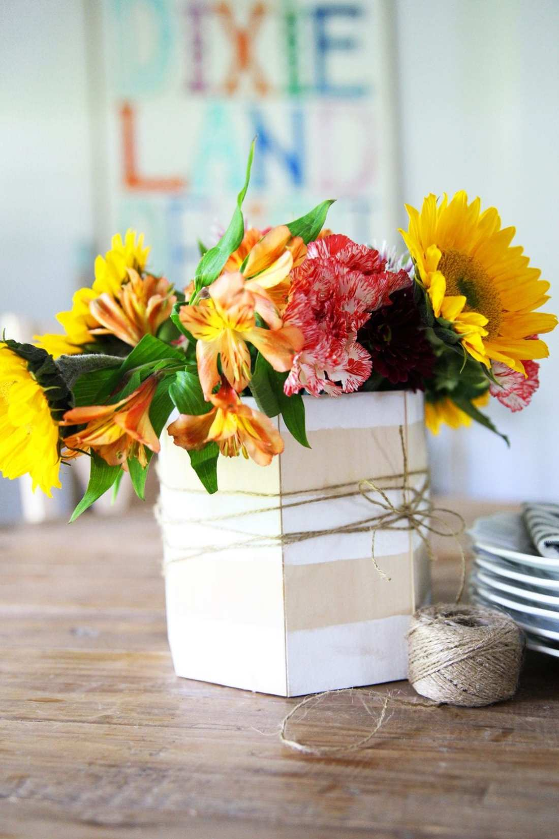 make a simple centerpiece