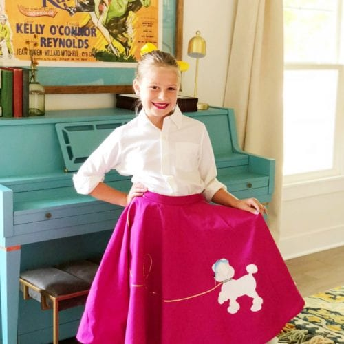 a full circle moment brought to you by poodle skirts