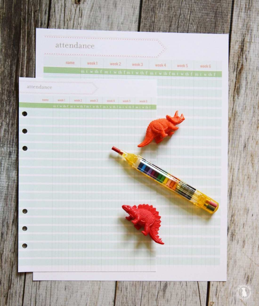 free planner - homeschool