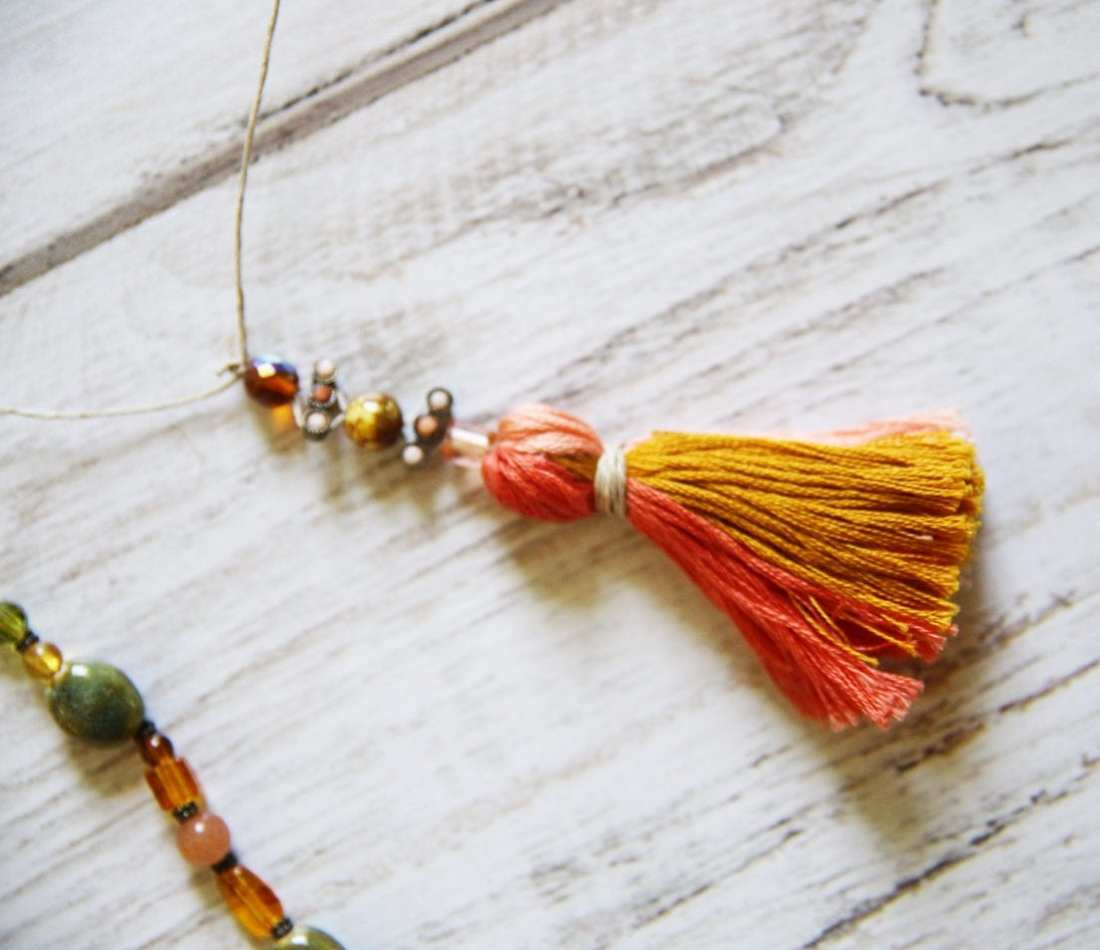 Tassel Necklaces for Kids