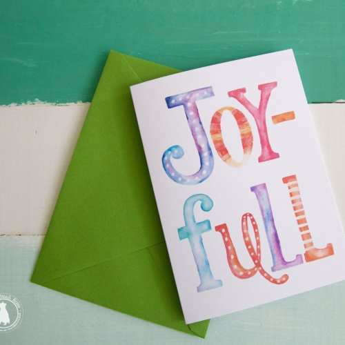 joy-full free printable christmas cards