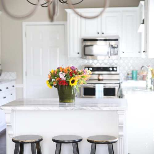a reclaimed kitchen makeover