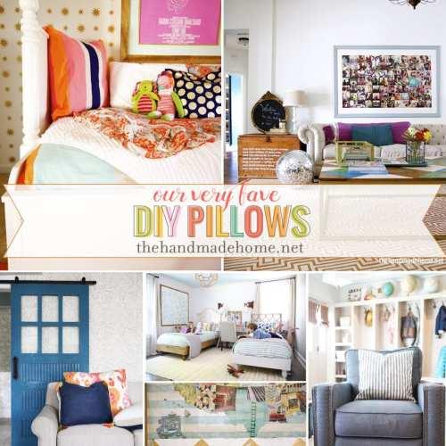 easy diy pillows