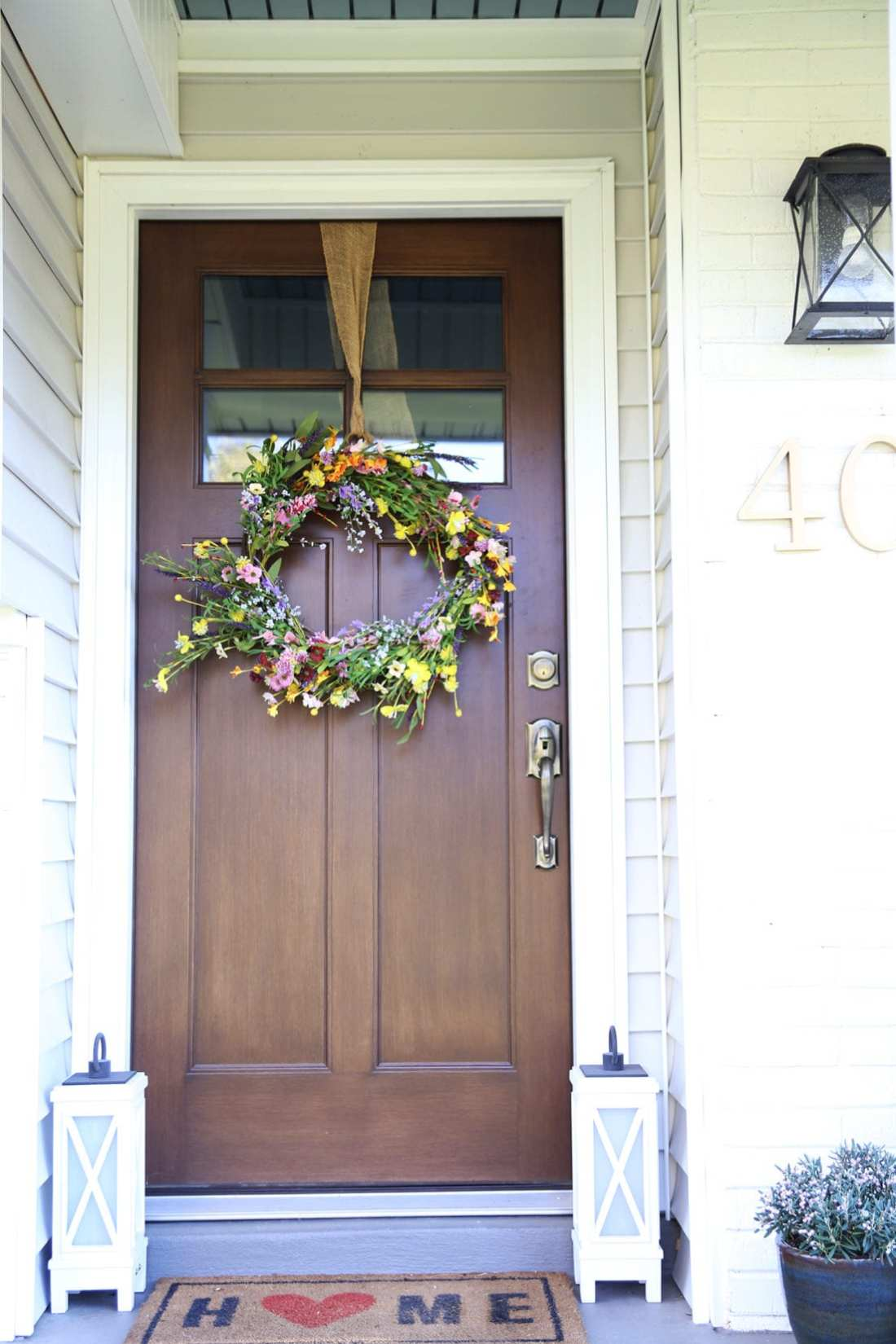 curb appeal front door