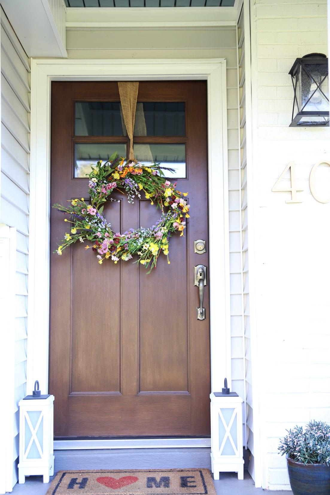 curb appeal front door
