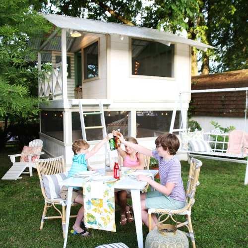 summer soirée in the handmade hideaway