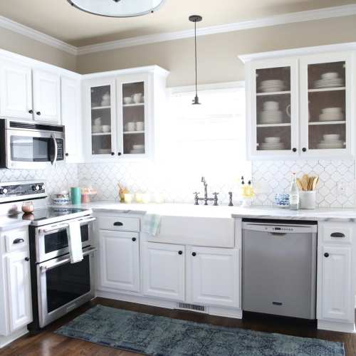 simple kitchen redo