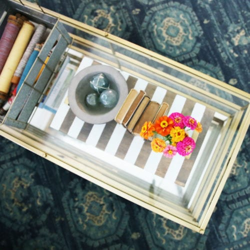 how to build a tray
