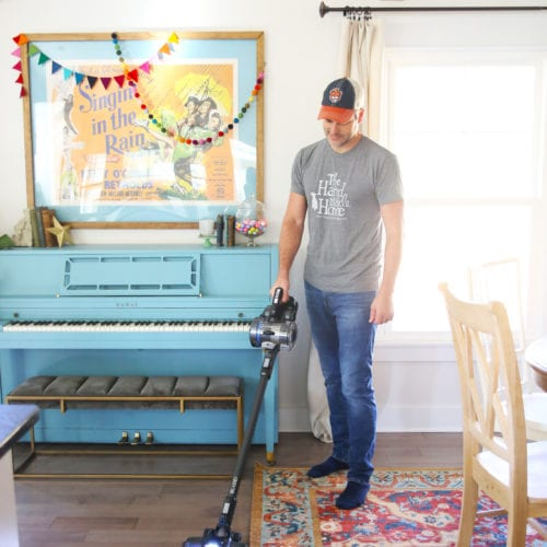 simplifying our cleaning game with HOOVER® ONEPWR™ and a giveaway