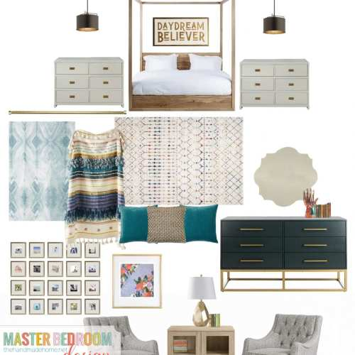 sneak peek: master bedroom design