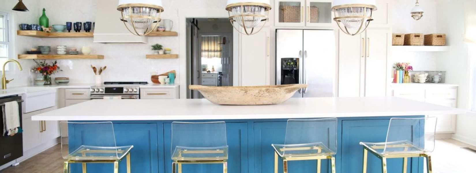 fresh colorful kitchen