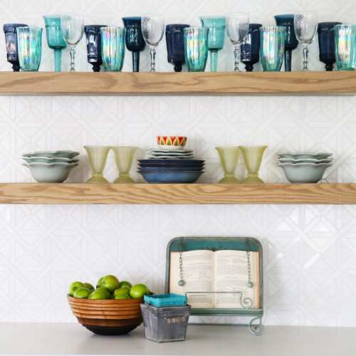 the handmade home's curated selection with jeffrey court
