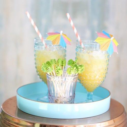 summer drink recipe: rum punch