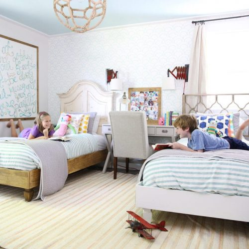 tips for a shared sibling space