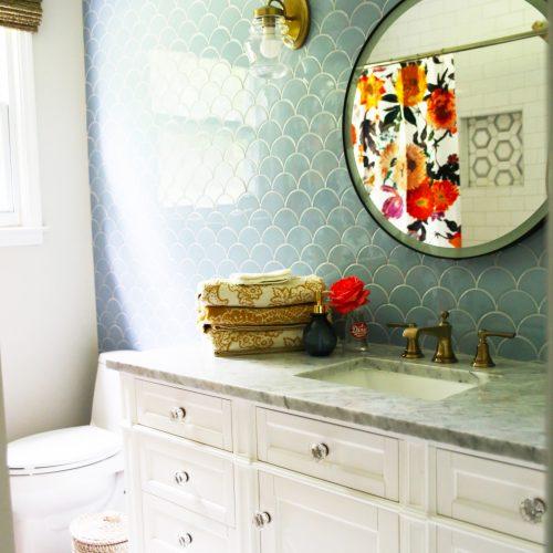 bright and bold bath