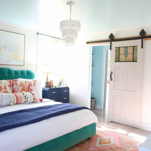 how to bring colors into your bedroom