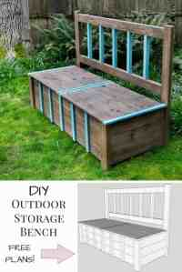 DIY Storage Bench {IGBuilders Challenge} - The Handyman's ...