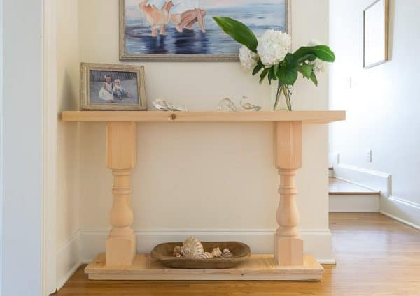 how to make a sofa table top futon company bed frame 20 amazing diy console tables the handyman s daughter combine pre made legs with and bottom create this