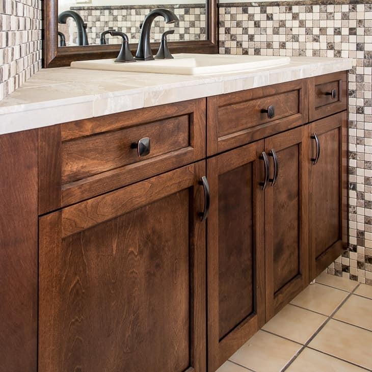 Update Your Bathroom Vanity with New Cabinet Doors  The