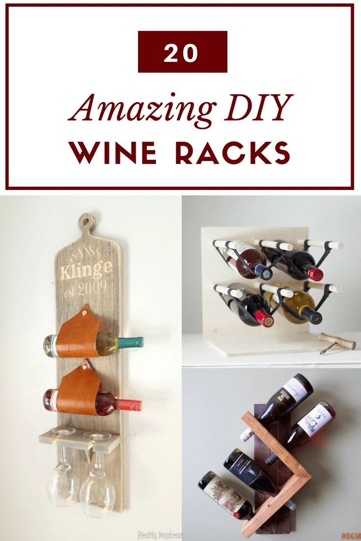 20 clever diy wine rack ideas the