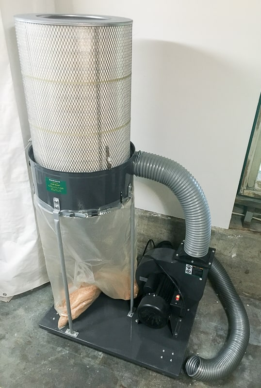 Harbor Freight 2hp Dust Collector Cfm
