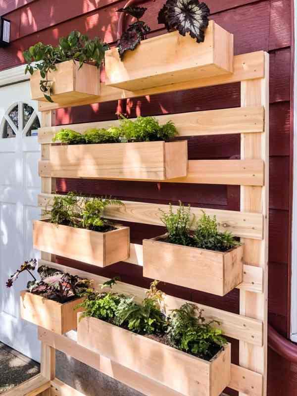 15 Ways To Make A Diy Vertical Garden Pretty Handy Girl