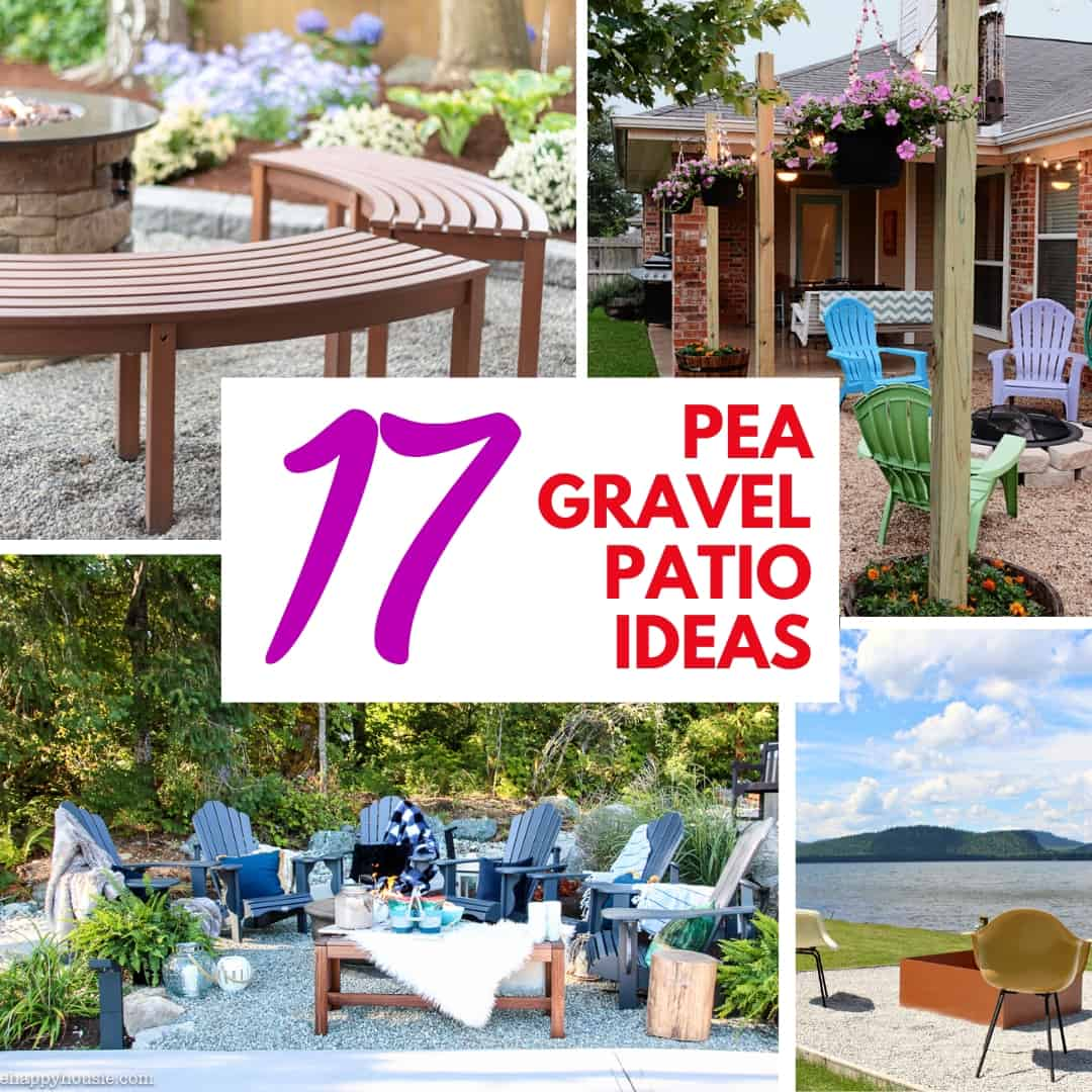 17 pea gravel patio ideas for your yard