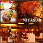 I've been to Miyasu and Mr. Bacque is not kidding. Amazing steaks. Pricy but amazing.