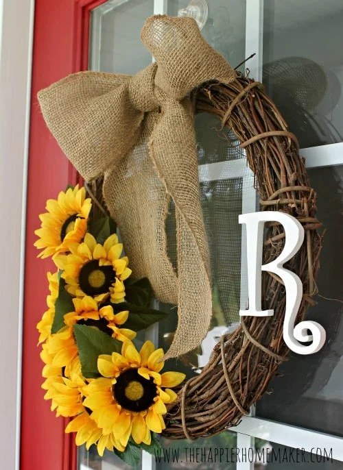 DIY Summer Wreath And Huge Announcement The Happier