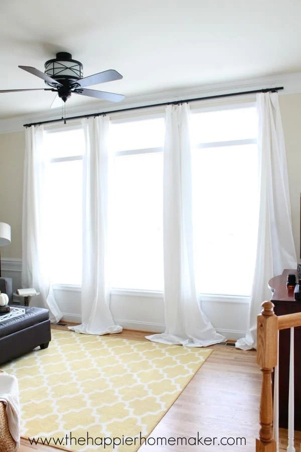 No Holes Renter Friendly Window Treatments  The Happier