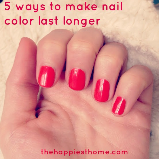 Nail Color Last Longer Polish
