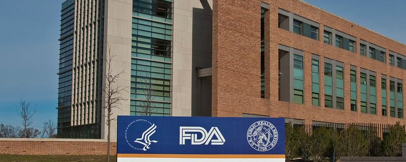 US Food and Drug Administration (FDA) Building and Sign