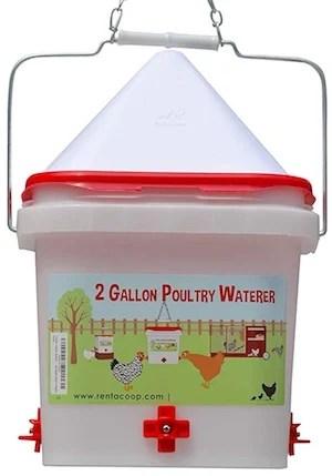 2 Gallon Chicken Waterer