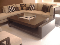 Rectangular center table designs for living room