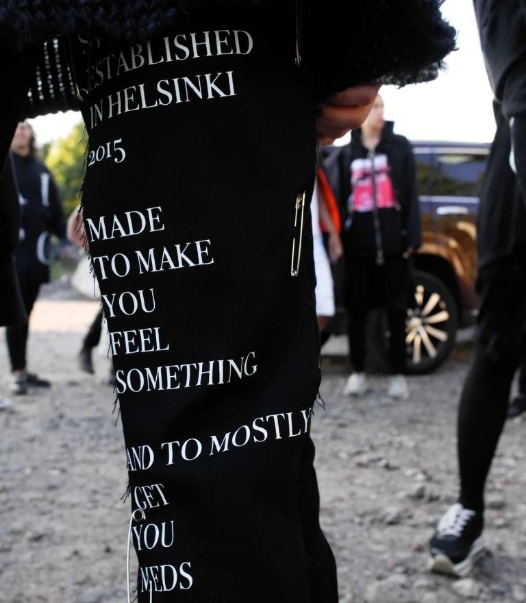 pants with words