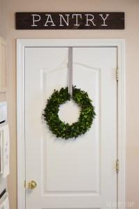 pantry-door-with-sign - The Happy Scraps