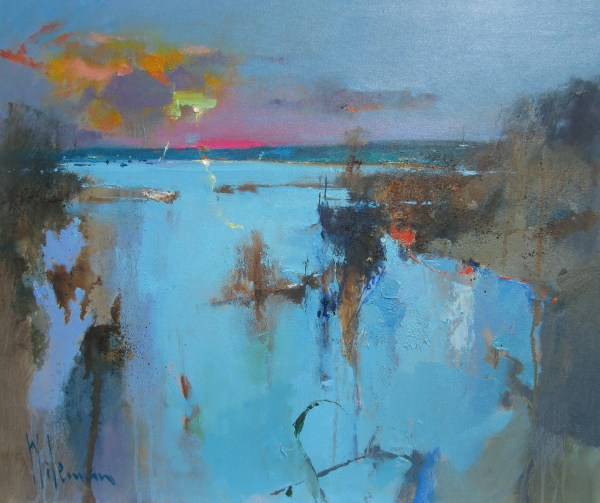 Abstract Landscape Paintings Peter Wileman