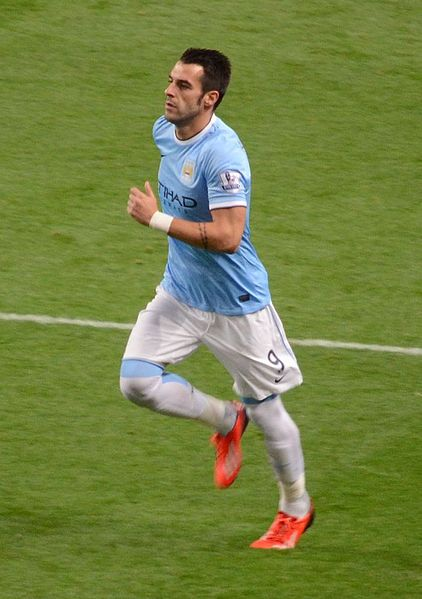 Alvaro Negredo - Manchester City centre forward (striker)   Soldado v Negredo - Who Has Had The Better Start?